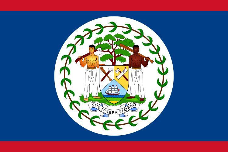 Bandera de la Rep�blica de Belize