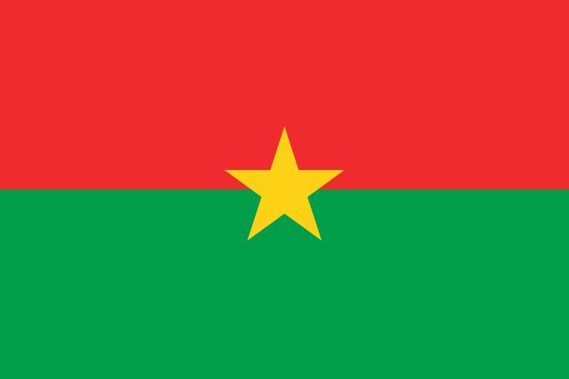 Bandera de Burkinafaso