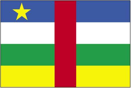 Bandera de Centroafrica