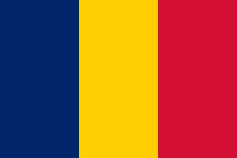 Bandera de la Rep�blica de Chad