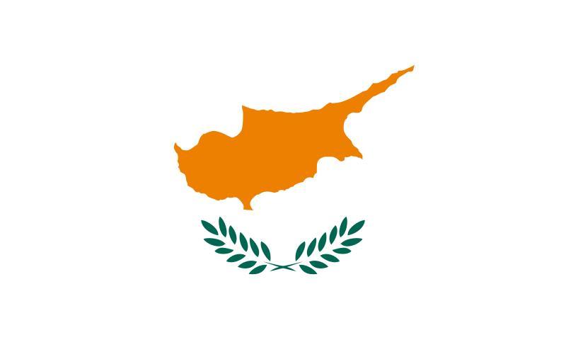 Bandera de la Rep�blica de Chipre