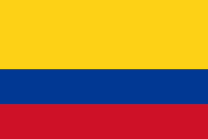 Bandera de la republica de Colombia