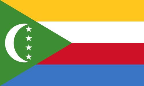 Bandera de Comores