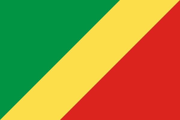 Bandera del Congo