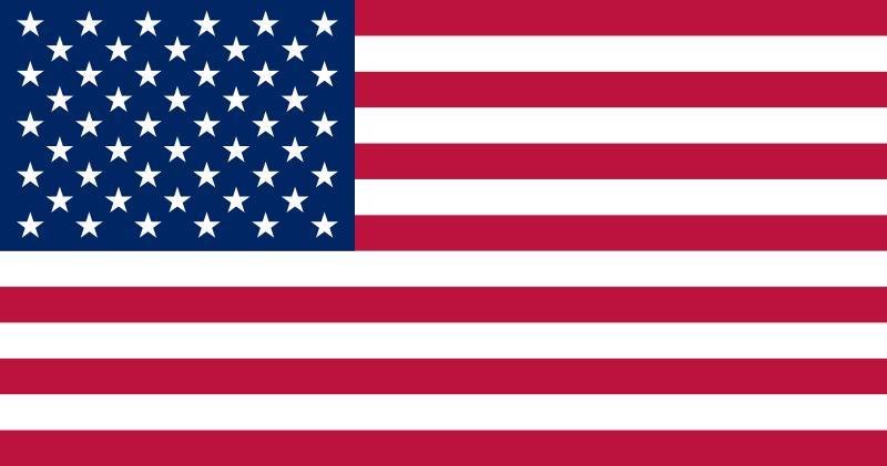 Bandera de Estadosunidos