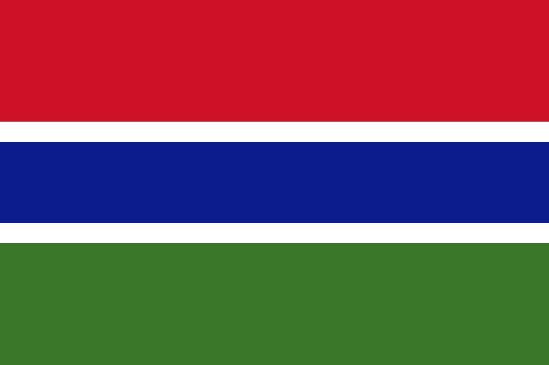 Bandera de Gambia