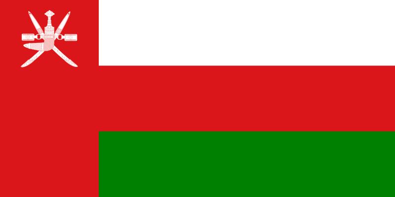Bandera de Oman