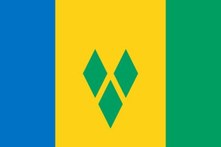 Bandera de Sanvicenteylasgranadinas