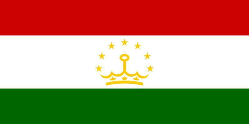 Bandera de Tayikistan