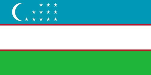 Bandera de Uzbekistan