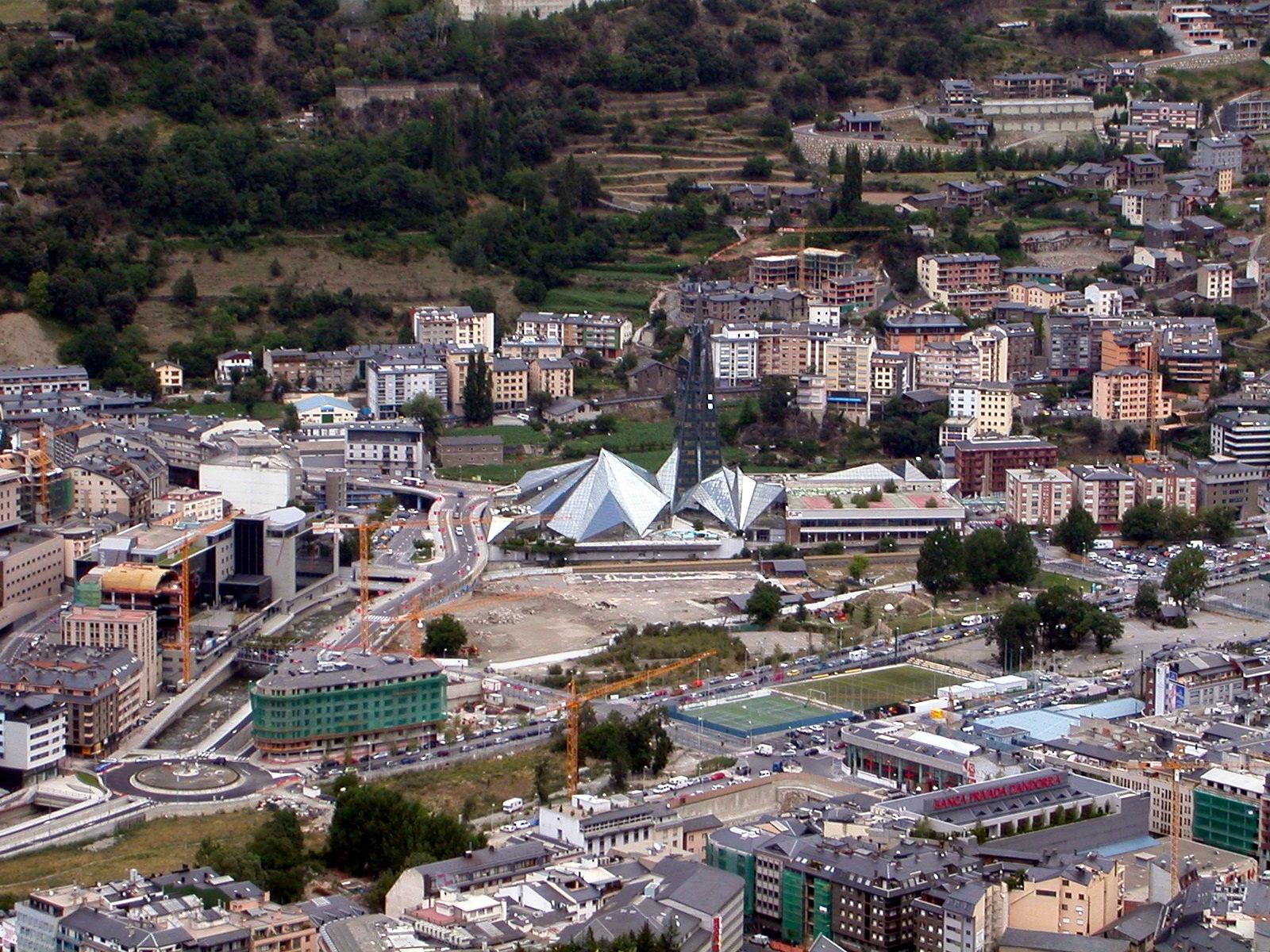Andorra la Vella Capital de Andorra