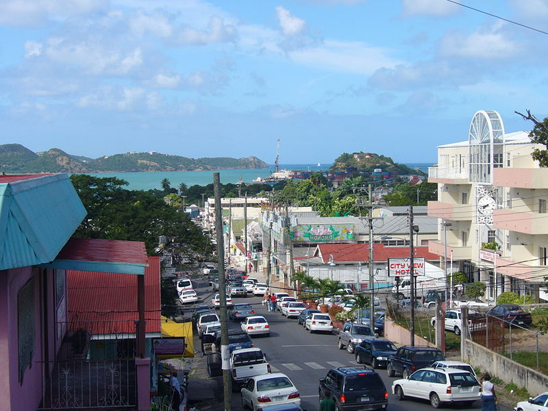 Saint John´s  Capital de Antigua y barbuda
