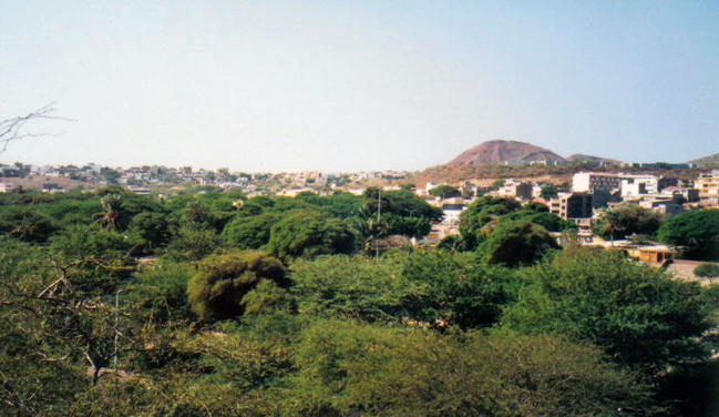 Praja Capital de Cabo Verde
