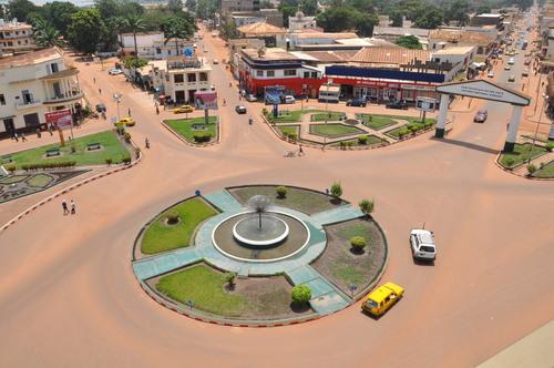 Capital de la republica centro africana
