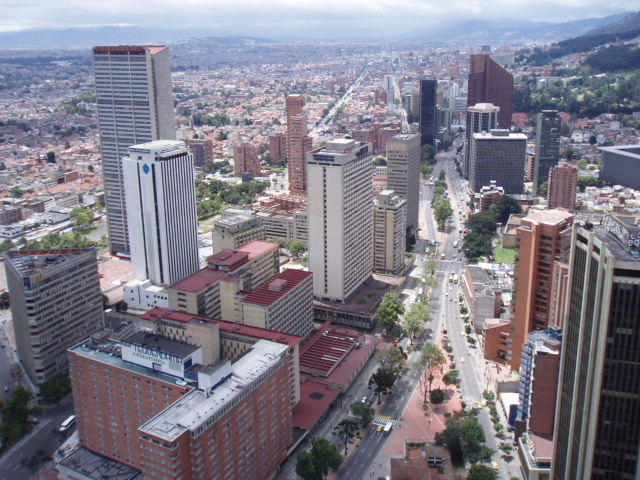 Bogot� D C  Capital de Colombia