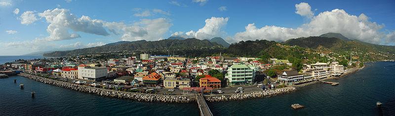 Roseau capital de Dominica