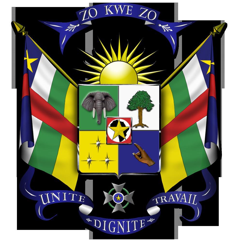 Escudo de la Republica Centroafricana