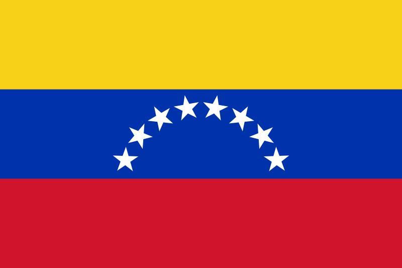 Bandera de la República Bolibariana de Venezuela
