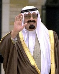Abdullah Rey de Arabia Saudita