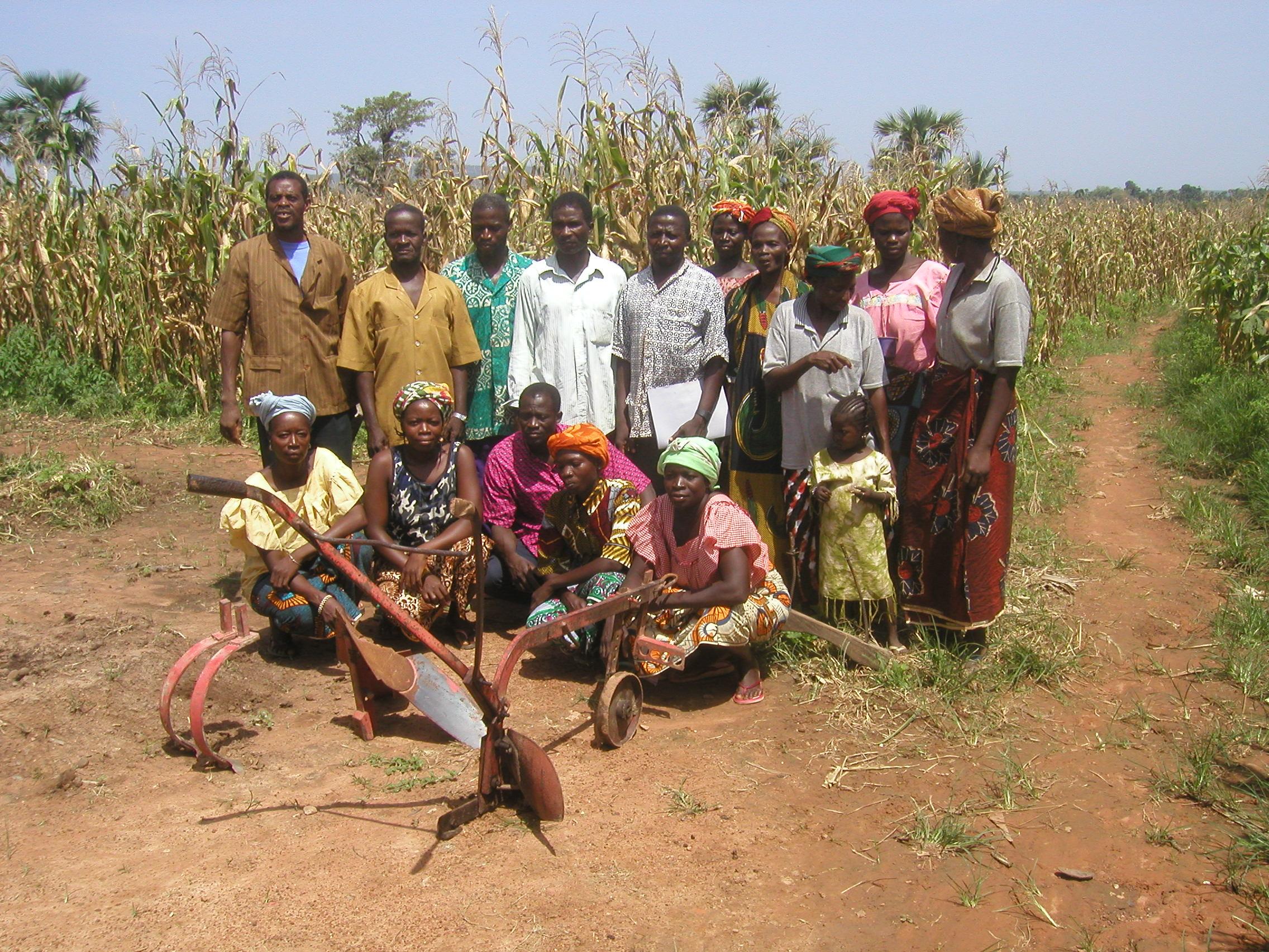 Agricultores de Burkinafaso