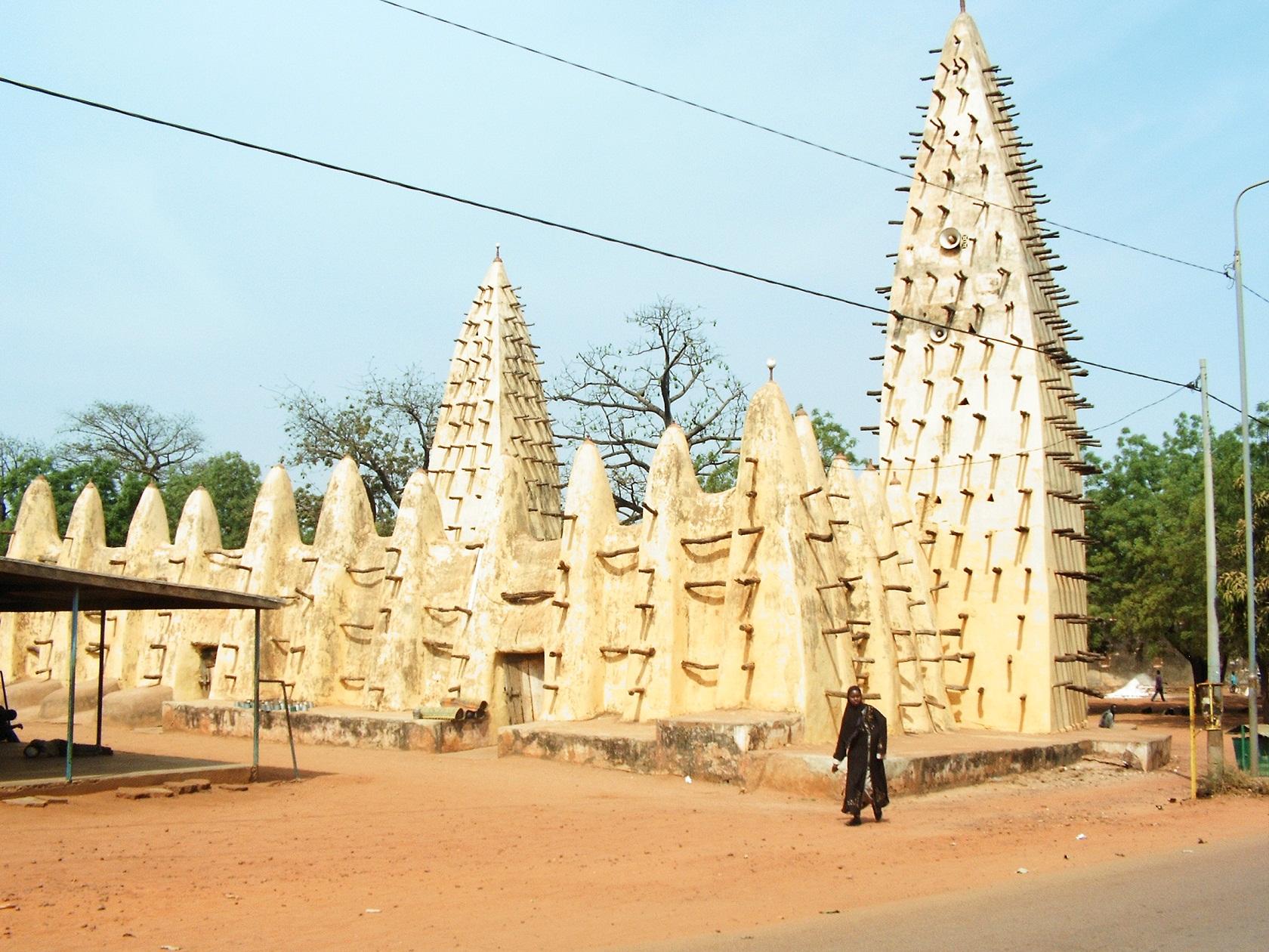 Mezquita de burkinafaso