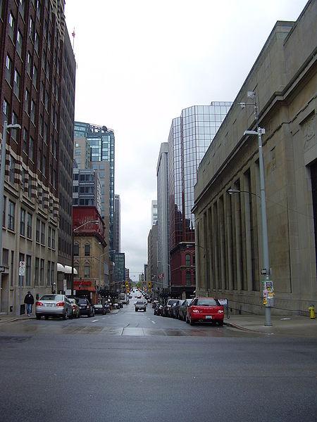 Centro Financiero de Ottawa en Canada