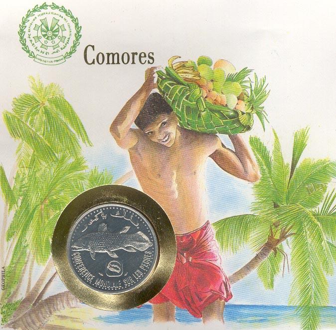 Bandera de la Gran Comora 1886 - 1891