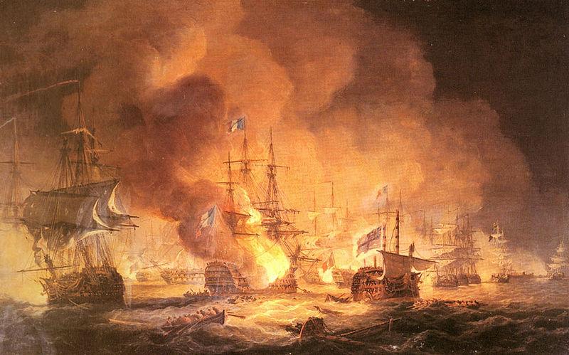 Batalla del nilo 1798