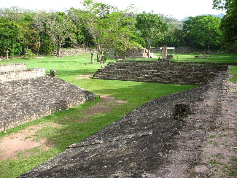 Ciudad Copan fundada por los Maya