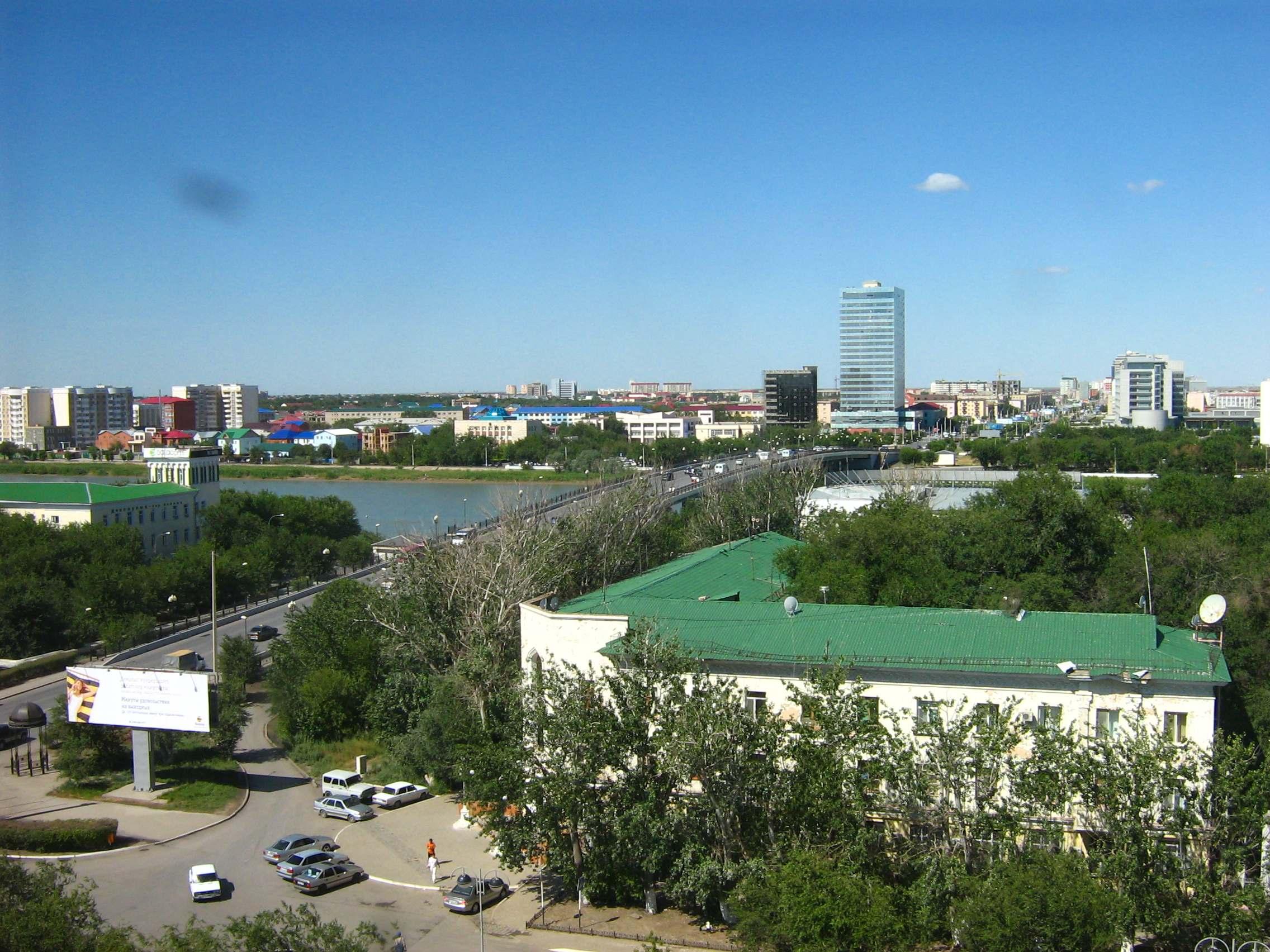 Atyrau ciudad de Kazajistan