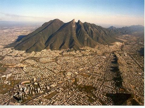 Monterrey nuevo leon el cerro de la silla