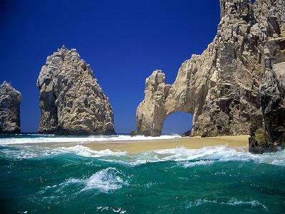 El Arco en Cabo San Lucas Baja California Sur México es un simbolo