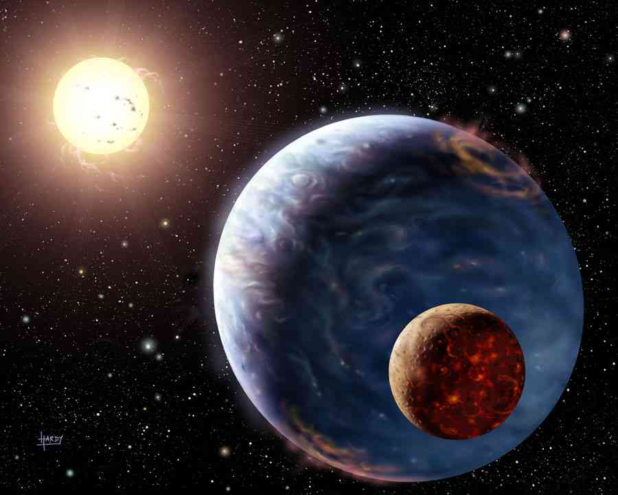 El Planeta Tierra el Sol Y La Luna