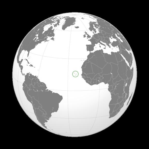 Mapa de Caboverde