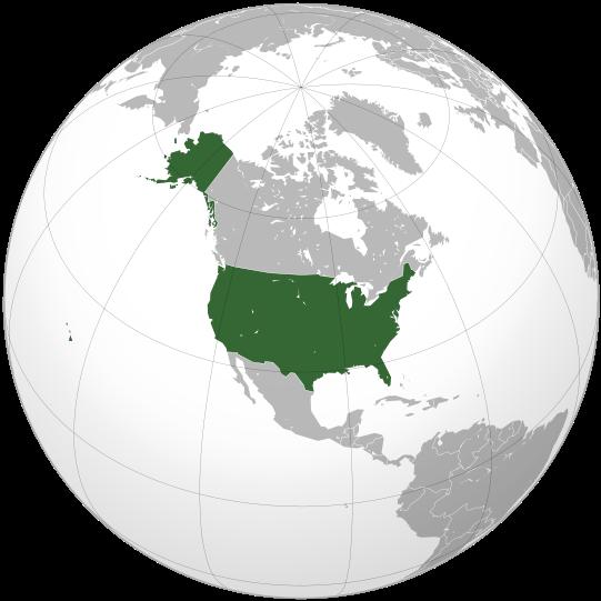Mapa de Estadosunidos