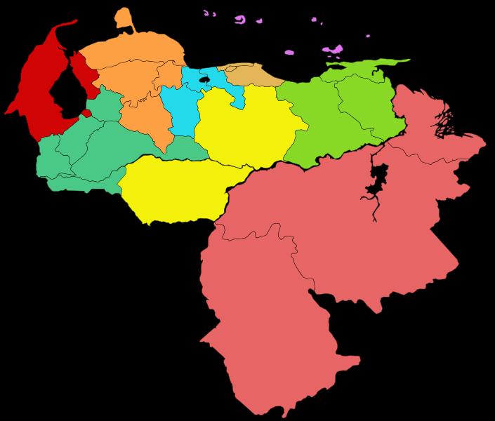 Provincias de Venezuela